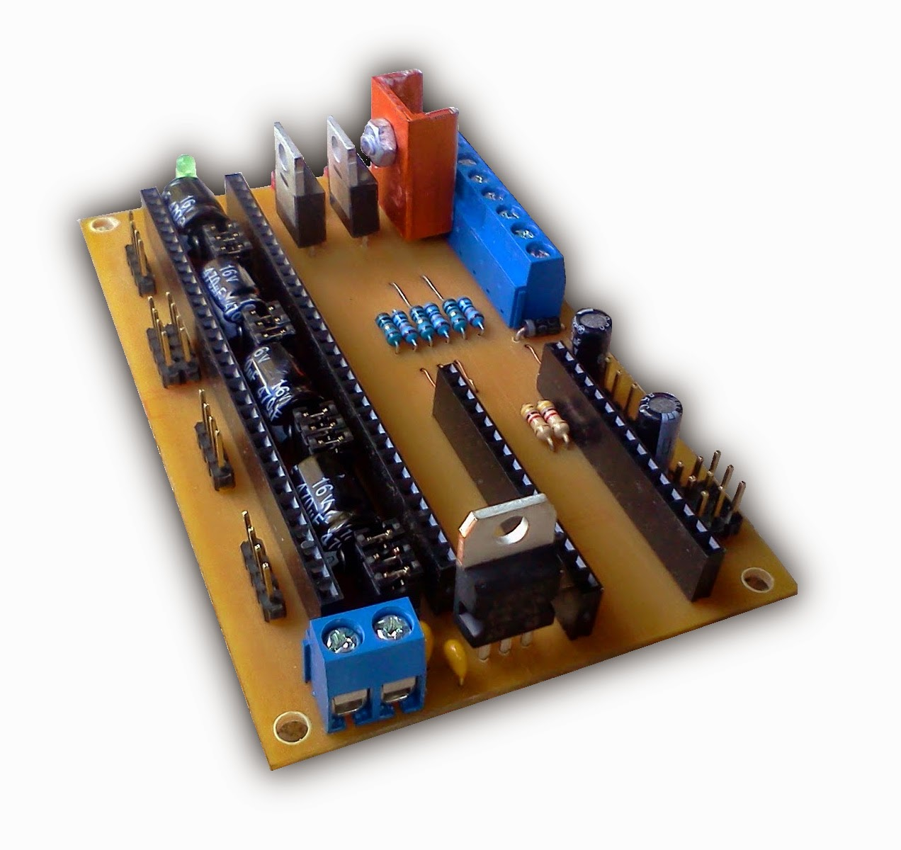 Sinaptec At32802 Is A 3d Fdm Printer Controller Board Of Ultra Low Solid State Relay Reprap Foto