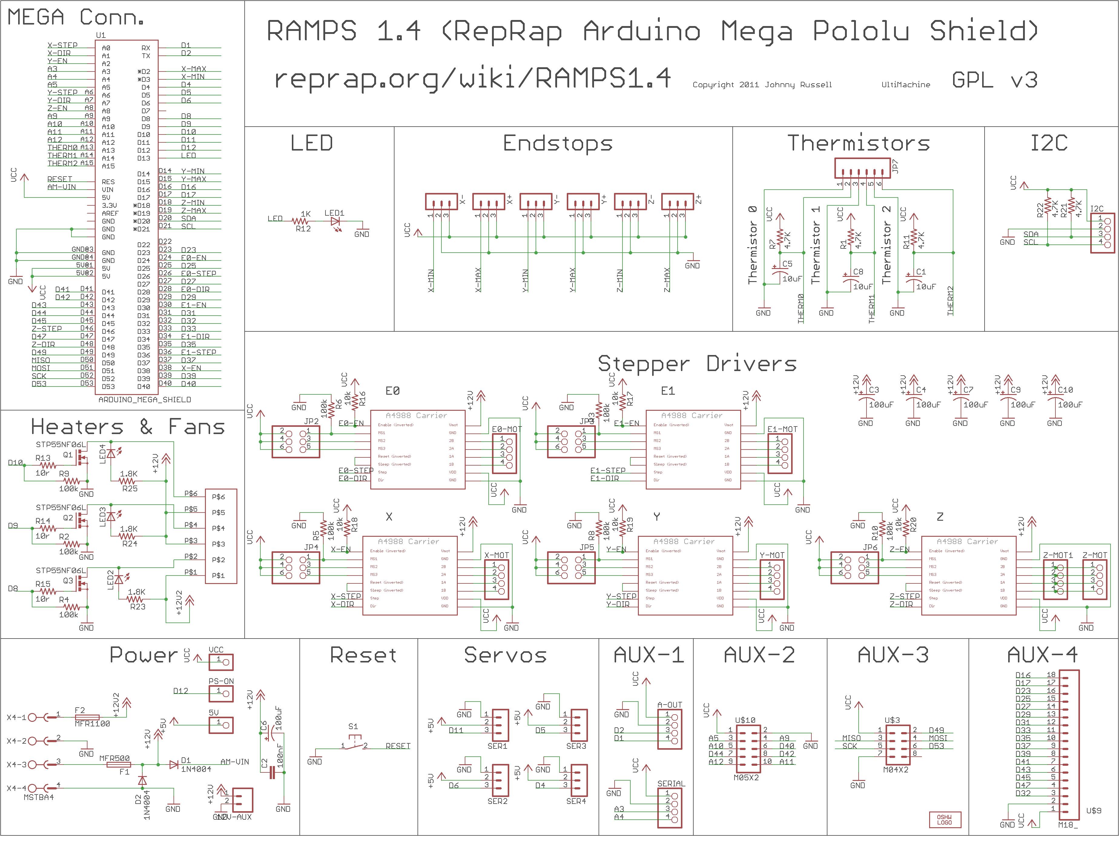 Ramps 1 4 Arduin Mega 2560