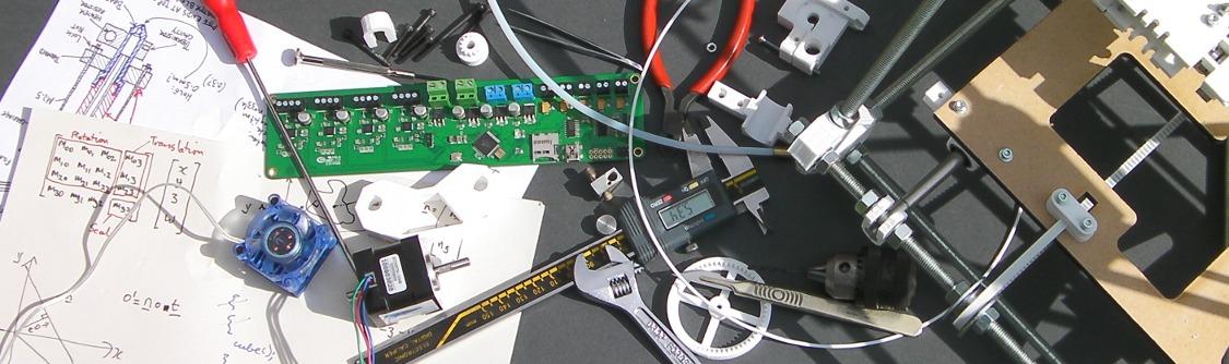 Componentes basado en RepRap para impresora de comida