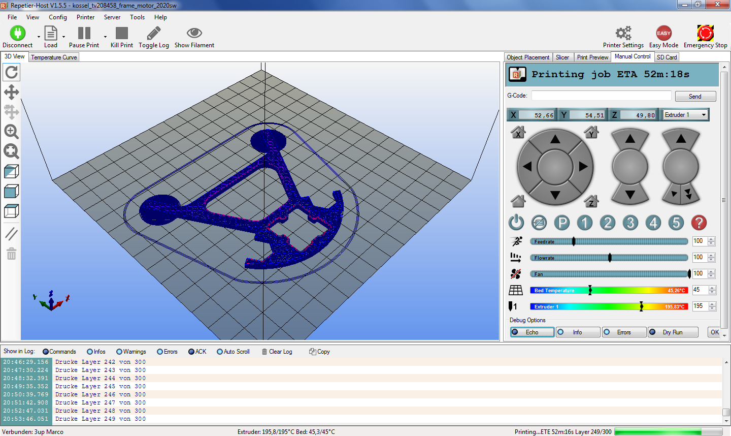 Repetier host reprap for Cad 3d free italiano