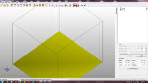 Netfabb with highlighted repair tools