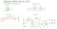 Stepper Motor Driver 2.3r1 Schematic