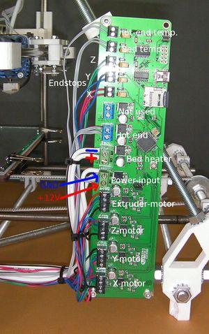 Reprappro Mendel Wiring Reprap